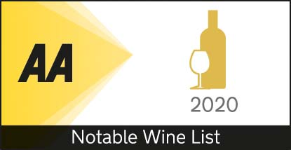 2020 AA Notable Wine List Award